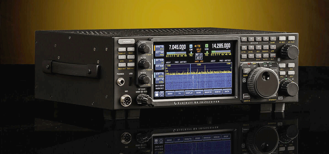 Elecraft K4 Direct Sampling SDR